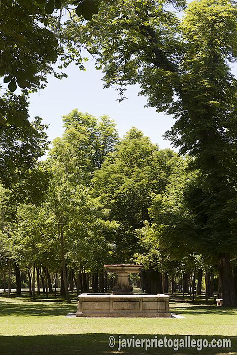 Parque de la Alameda del Parral. Segovia. © Javier Prieto Gallego