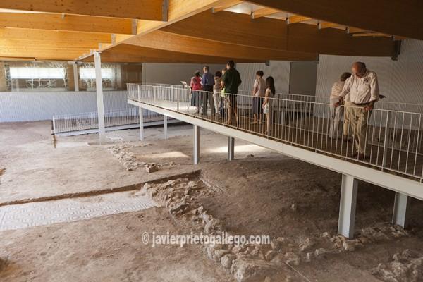 """Villa romana """"La Dehesa"""", próxima a la localidad de Las Cuevas de Soria. Soria. Castilla y León. España © Javier Prieto Gallego"""