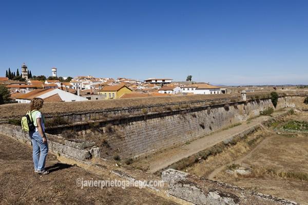 Trazado de las murallas de la fortificación de Almeida. Región de Beira. Portugal. © Javier Prieto Gallego