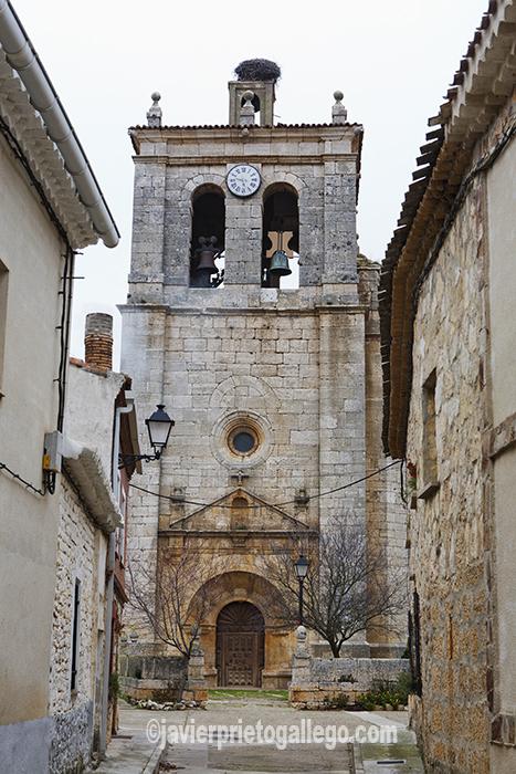 Iglesia de la Asunción. Cordovilla la Real. Cerrato palentino. Palencia. Castilla y León. España. © Javier Prieto Gallego