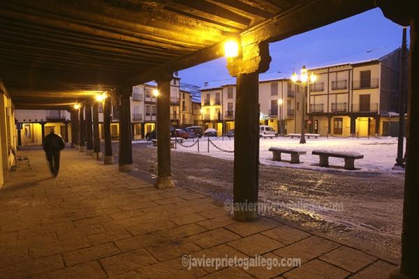 Plaza Mayor de Berlanga de Duero. Soria. Castilla y León. España. © Javier Prieto Gallego;