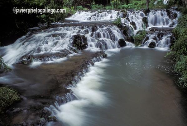 Saltos de agua en el Monasterio de Piedra. Aragón. España. © Javier Prieto Gallego