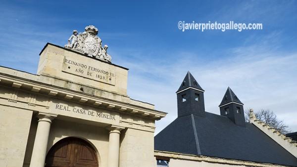 Puerta de entrada a la Real Casa de Moneda. Segovia. Castilla y León. España. ©Javier Prieto Gallego