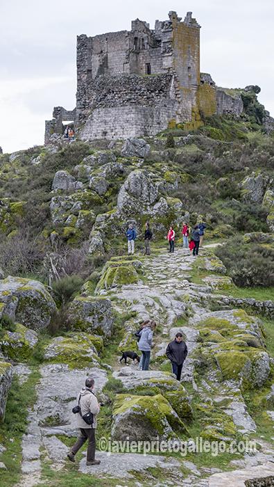Castillo de Trevejo. Cáceres. Sierra de Gata. Extremadura. España. © Javier Prieto Gallego