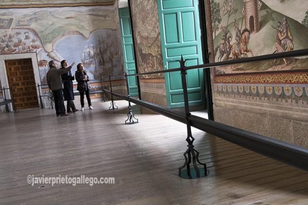 Galería de Batallas. Real Monasterio de El Escorial. Madrid. España ©Javier Prieto Gallego;