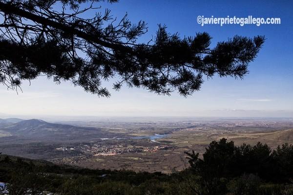 Panorámica de la provincia de Segovia desde la Sierra de Guadarrama. Segovia. Castilla y León. España. © Javier Prieto Gallego