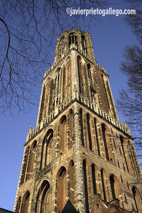 Torre Dom. perfecto mirador sobre la ciudad de Utrecht. Holanda. © Javier Prieto Gallego
