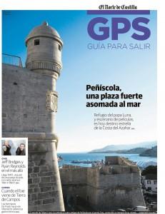 Reportaje sobre Peñíscola publicado por Javier Prieto Gallego en EL NORTE DE CASTILLA.