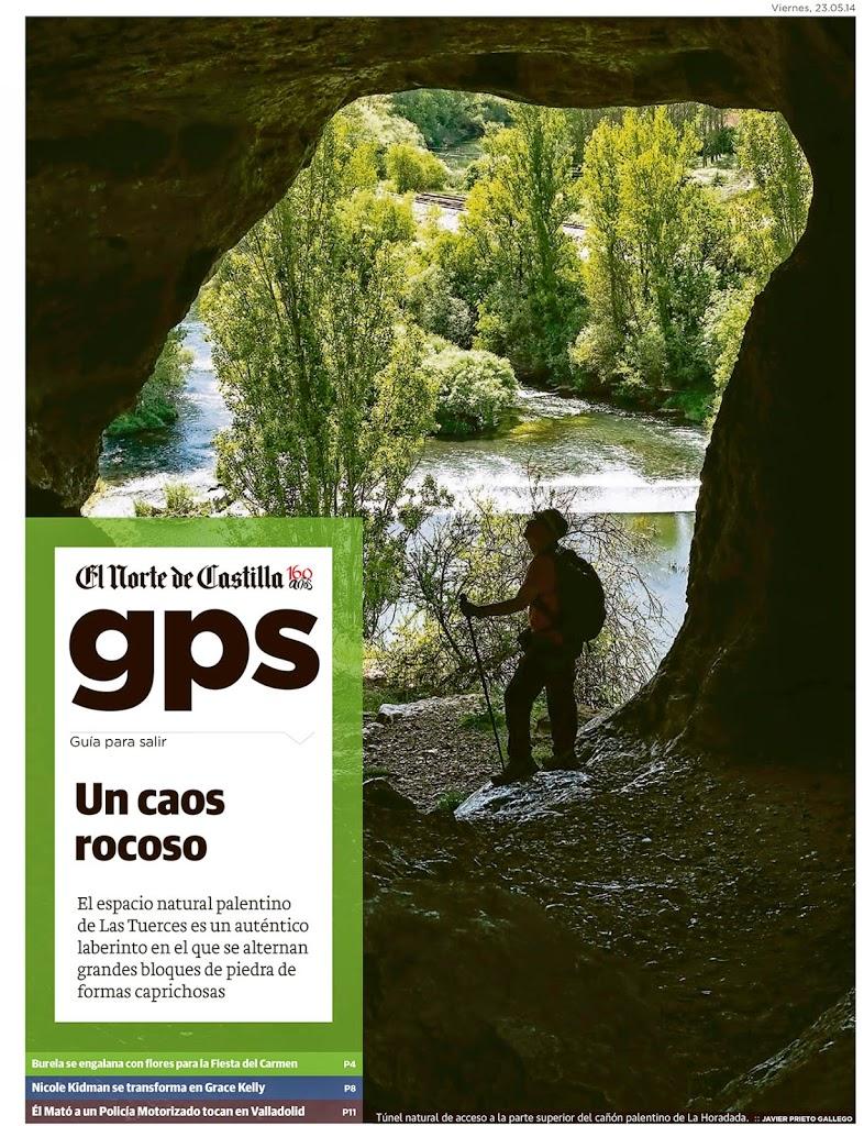 Reportaje sobre Las Tuerces publicado por Javier Prieto Gallego en EL NORTE DE CASTILLA