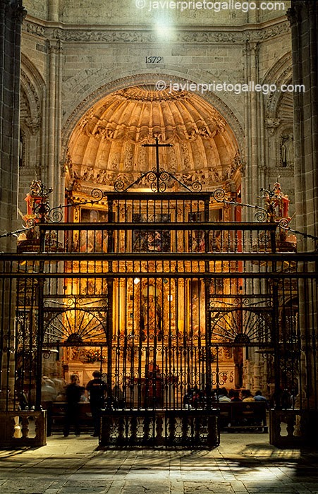 Iglesia de la iglesia del monasterio de La Vid. Burgos. Castilla y León. España. © Javier Prieto Gallego