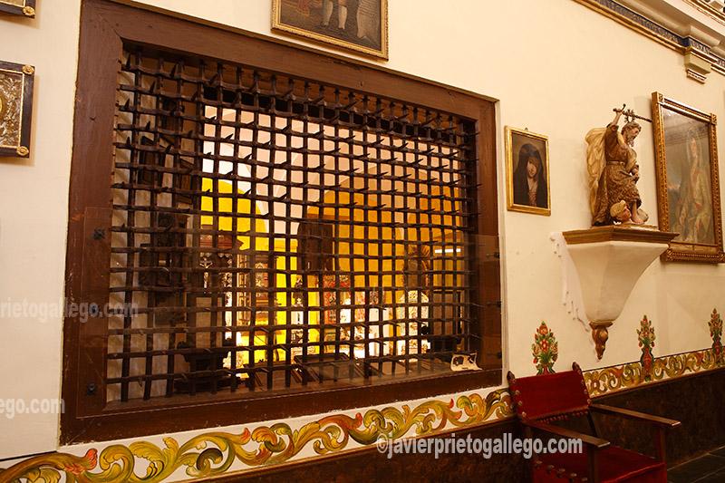Capilla deLoreto. Convento de las Madres Carmelitas Descalzas de Peñaranda de Bracamonte. Provincia de Salamanca. Castilla y León. España.© Javier Prieto Gallego