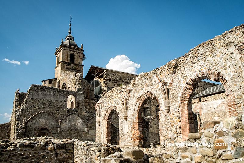 Restos medievales del claustro reglar del monasterio de Santa María de Carracedo. El Bierzo. León. Castilla y León. España. © Javier Prieto Gallego