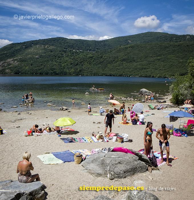 Playa de los Enanos. Lago de Sanabria. Zamora. Castilla y León. España © Javier Prieto Gallego