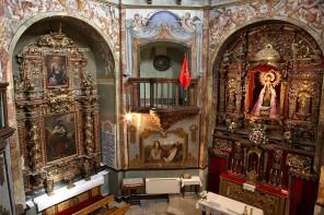 Cripta de la Virgen de la Soterraña (Olmedo, Valladolid)