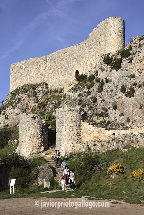 Castillo. Siglos X-XV. Poza de la Sal. Burgos. Castilla y León. España © Javier Prieto Gallego