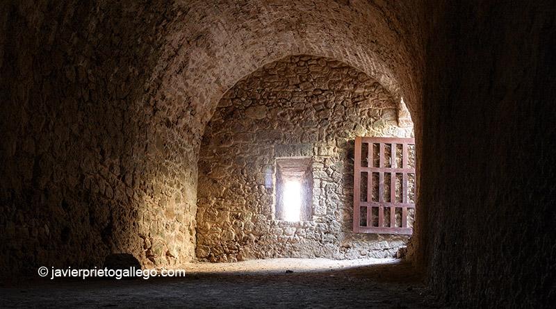 Interior del Castillo. Siglos X-XV. Poza de la Sal. Burgos. Castilla y León. España © Javier Prieto Gallego