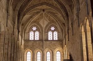 Refectorio del monasterio de Santa María de Huerta (Soria)