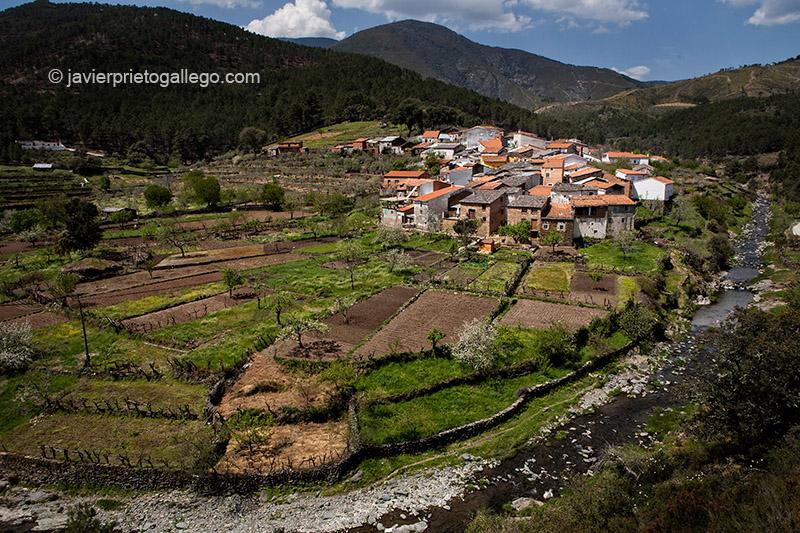 Localidad de Castillo. Comarca de Las Hurdes. Cáceres. Extremadura. España. © Javier Prieto Gallego;