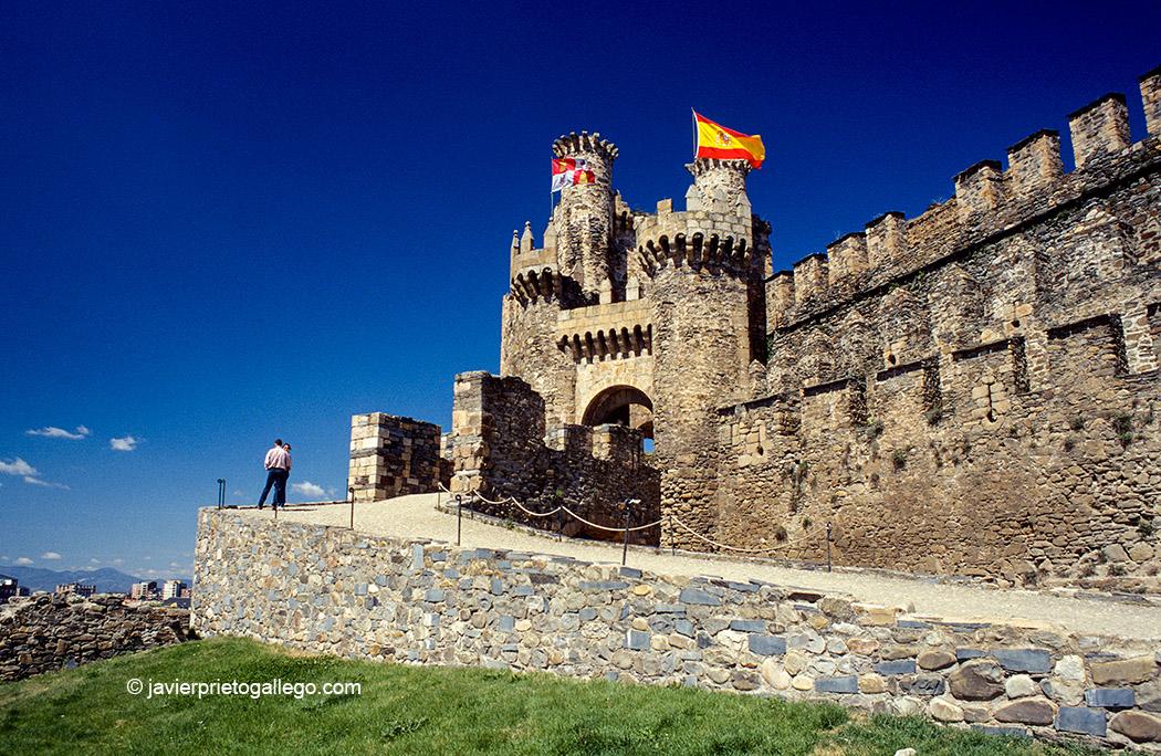 Castilo templario de Ponferrada. Camino de Santiago en El Bierzo. León. Castilla y León. España. © Javier Prieto Gallego