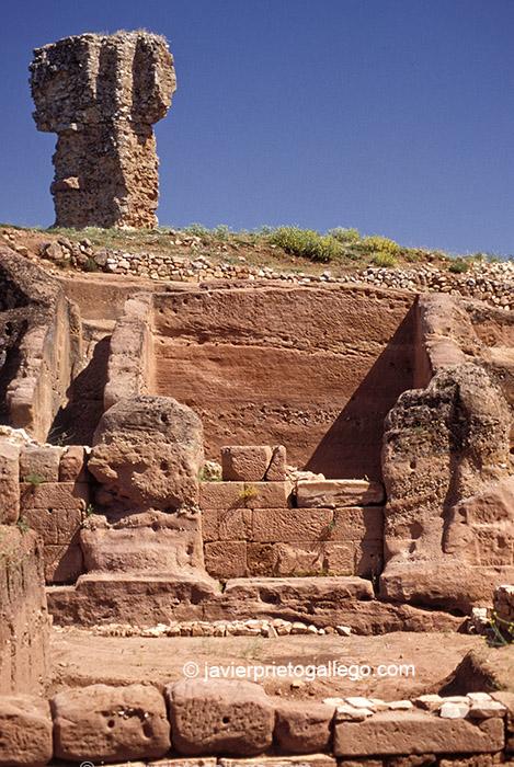 Yacimiento de Tiermes. Soria. Castilla y León. España © Javier Prieto Gallego;