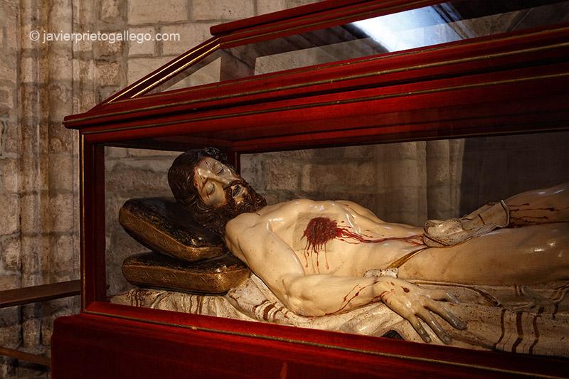 Cristo de Gregorio Fernández. Interior de la iglesia de San Pablo. Valladolid. Castilla y León. España. © Javier Prieto Gallego
