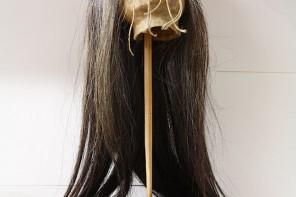 Cabeza reducida por los indios jíbaros. Museo de Ciencias Naturales. Valladolid. Castilla y León. España, 2008 © Javier Prieto Gallego
