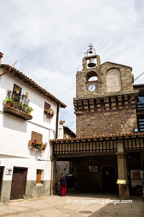 Torre del Concejo. Localidad de Sequeros. Salamanca. Castilla y León. España. © Javier