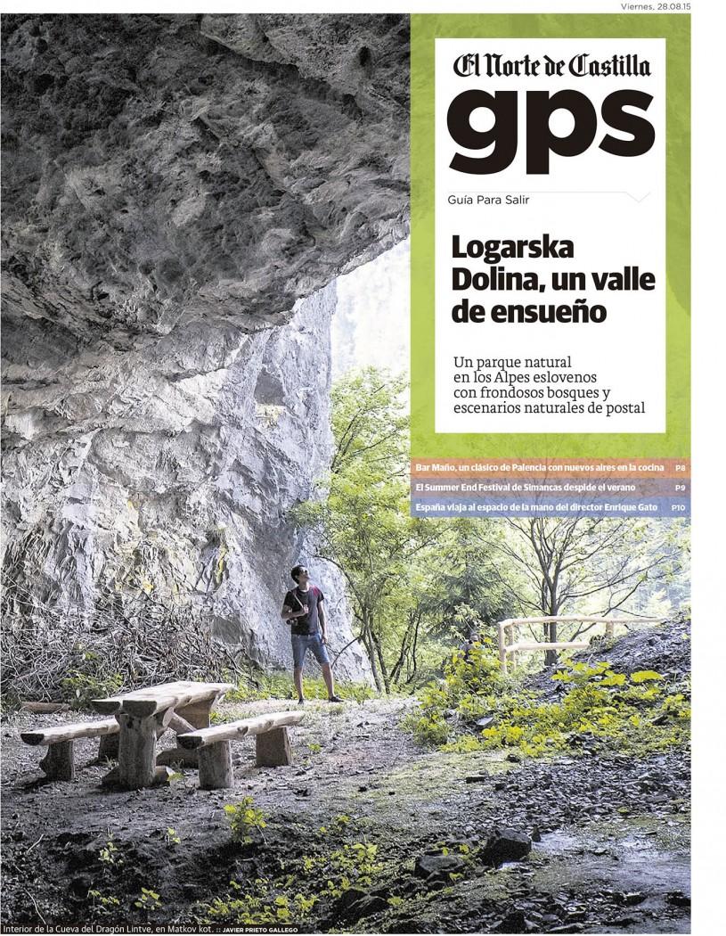 Logarska Dolina. Reportaje de Javier Prieto Gallego publicado en el suplemento GPS de la edición regional de EL NORTE DE CASTILLA.