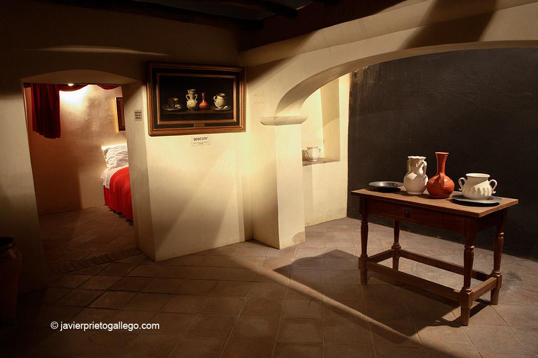 Interior de la Casa Museo donde nació Zurbarán. Localidad de Fuente de Cantos. Mancomunidad de Tentudía. Badajoz. Extremadura. España. 2007 © Javier Prieto Gallego