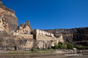 Ruinas del convento de la Hoz (Hoces del Duratón, Segovia)