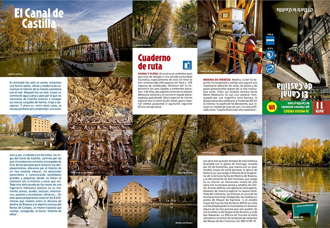 Colección de paseos por Castilla y León elaborada por Javier Prieto Gallego para el periódico EL NORTE DE CASTILLA.