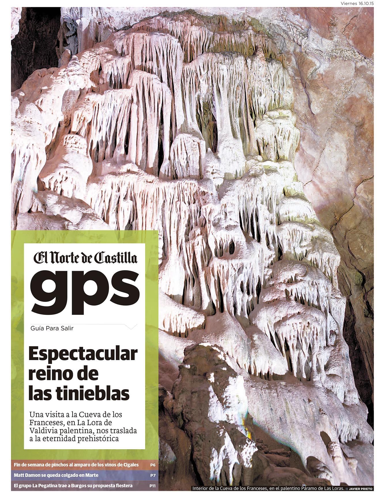 La Cueva de los Franceses. Reportaje publicado por Javier Prieto Gallego en el periódico EL NORTE DE CASTILLA.