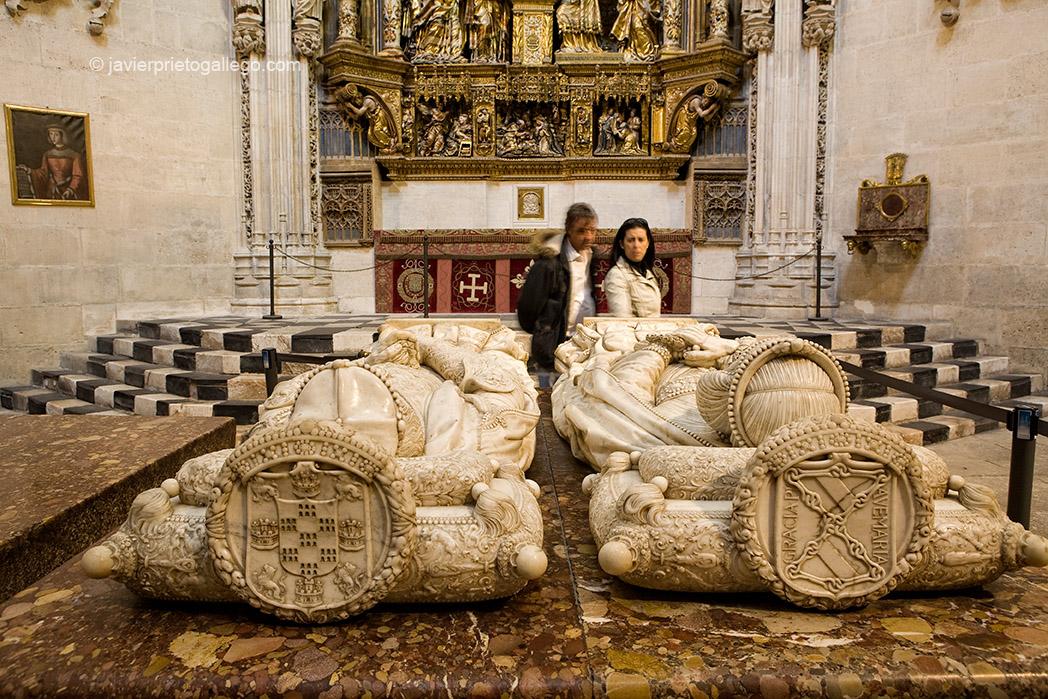 Capilla de los Condestables. Realizada por Simón y Franciso de Colonia entre 1482 y 1517. Catedral de Burgos. Castilla y León. España. © Javier Prieto Gallego