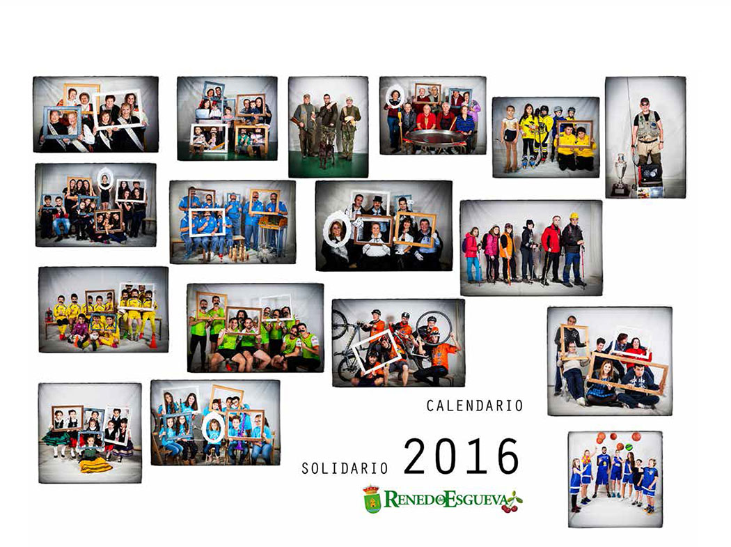 Calendario Solidario de Renedo de Esgueva 2015. © Javier Prieto Gallego