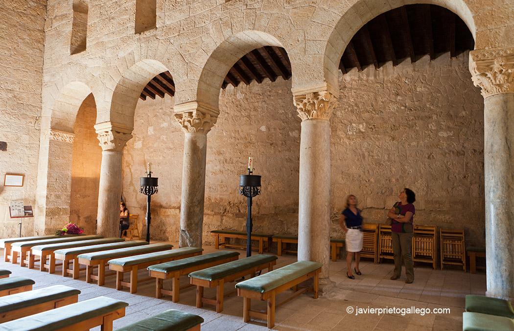 Basílica visigoda de San Juan de Baños. Baños de Cerrato. Palencia. El Cerrato Castellano. Castilla y León. España © Javier Prieto Gallego