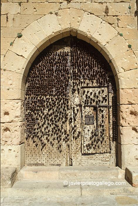 Puerta del castillo de Pedraza. Segovia. Castilla y León. España, 2005 © Javier Prieto Gallego