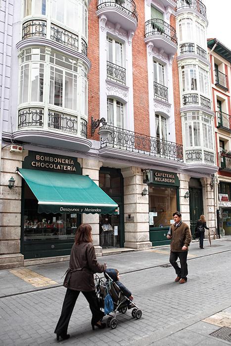 Calle Platerías. Valladolid. Castilla y León. España © Javier Prieto Gallego