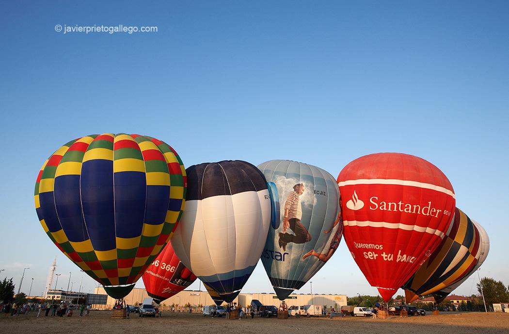 Vuelos en globo en Castilla y León
