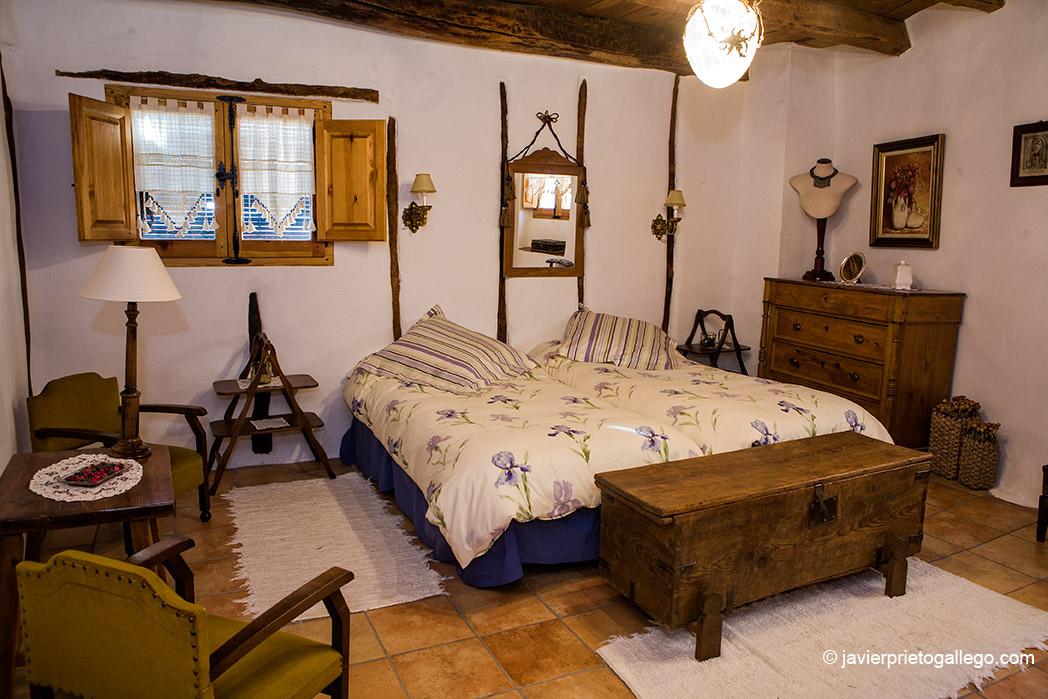 Casa rural Vega del Duero. Localidad de Roturas. Castilla y León. España. © Javier Prieto Gallego