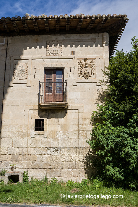 Casa del insquisdor Zaldivar (1590). Valpuesta. Burgos. Castilla y León. España. © Javier Prieto Gallego