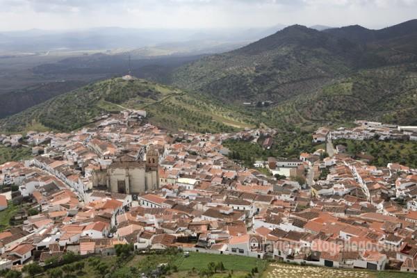 Vista de Feria desde su castillo.