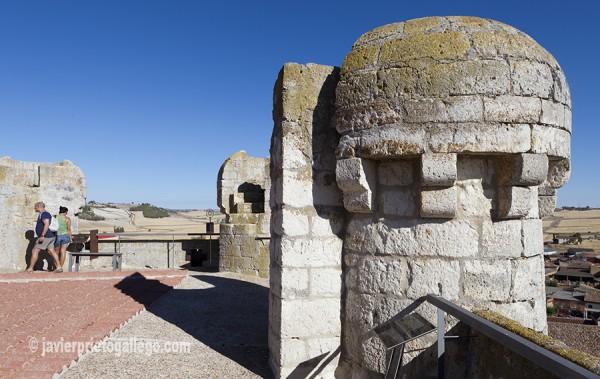 Torre del homenaje del castillo. Torrelobatón. Valladolid. Castilla y León. España © Javier Prieto Gallego
