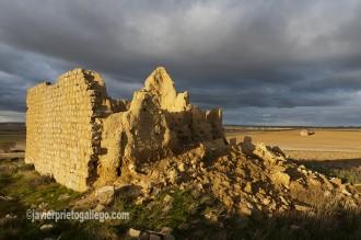Palomar derruido. Localidad de Támara.Tierra de Campos. Palencia. Castilla y León. España. © Javier Prieto Gallego