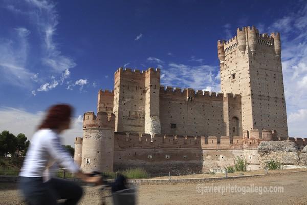 Castillo de la Mota. Siglo XV. Medina del Campo. Valladolid. Castilla y León. España. © Javier Prieto Gallego
