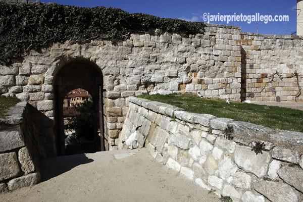 Portillo de la Lealtad de la muralla de Zamora, antes conocido como Portillo de la Traición. Castilla y León. España © Javier Prieto Gallego