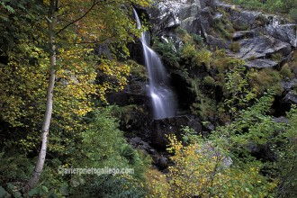 Cascadas de Sotillo. Parque Natural del Lago de Sanabria. Forman parte de la Ruta de Don Quijote. Zamora. Castilla y León. España. © Javier Prieto Gallego