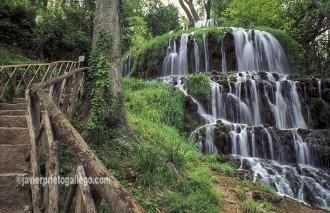 Cascada de los Fresnos. Monasterio de Piedra. Aragón. España. © Javier Prieto Gallego