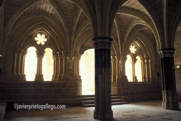 Sala capitular del Monasterio de Piedra. Aragón. España. © Javier Prieto Gallego