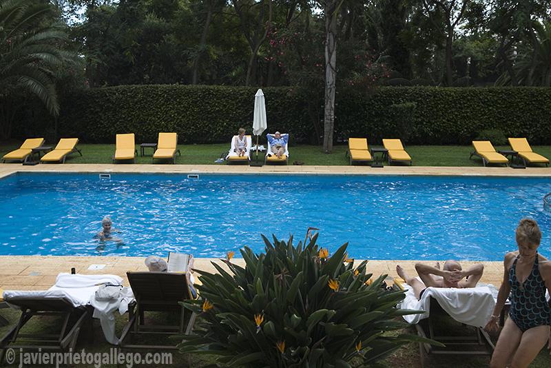 Piscina del hotel Quinta da Bela Vista ubicado en una mansión señorial de 1844. Funchal. Madeira. Portugal. © Javier Prieto Gallego