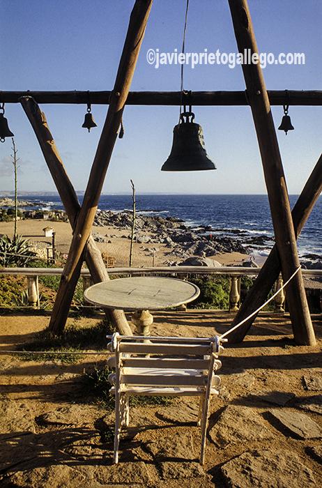 Detalle de la terraza de la casa de Pablo Neruda en Isla Negra (Chile). Isla Negra. Chile ©Javier Prieto Gallego